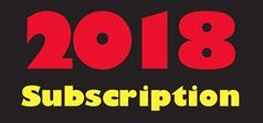 Membership Subscriptions  2018