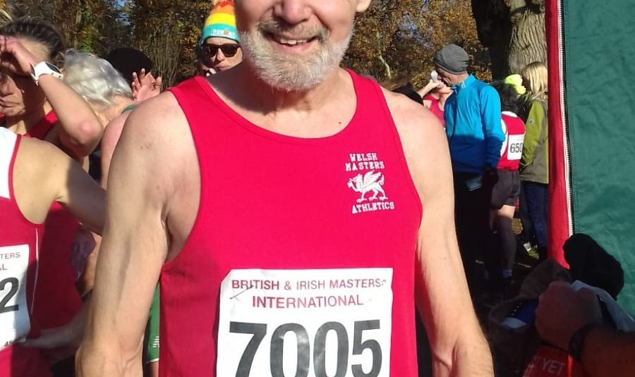 llongyfarchiadau Paul Allen 1st back for Wales in British & Irish X-C International