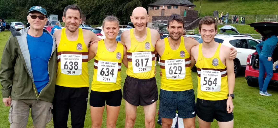 HACC on tour to Lake Vyrnwy Half Marathon