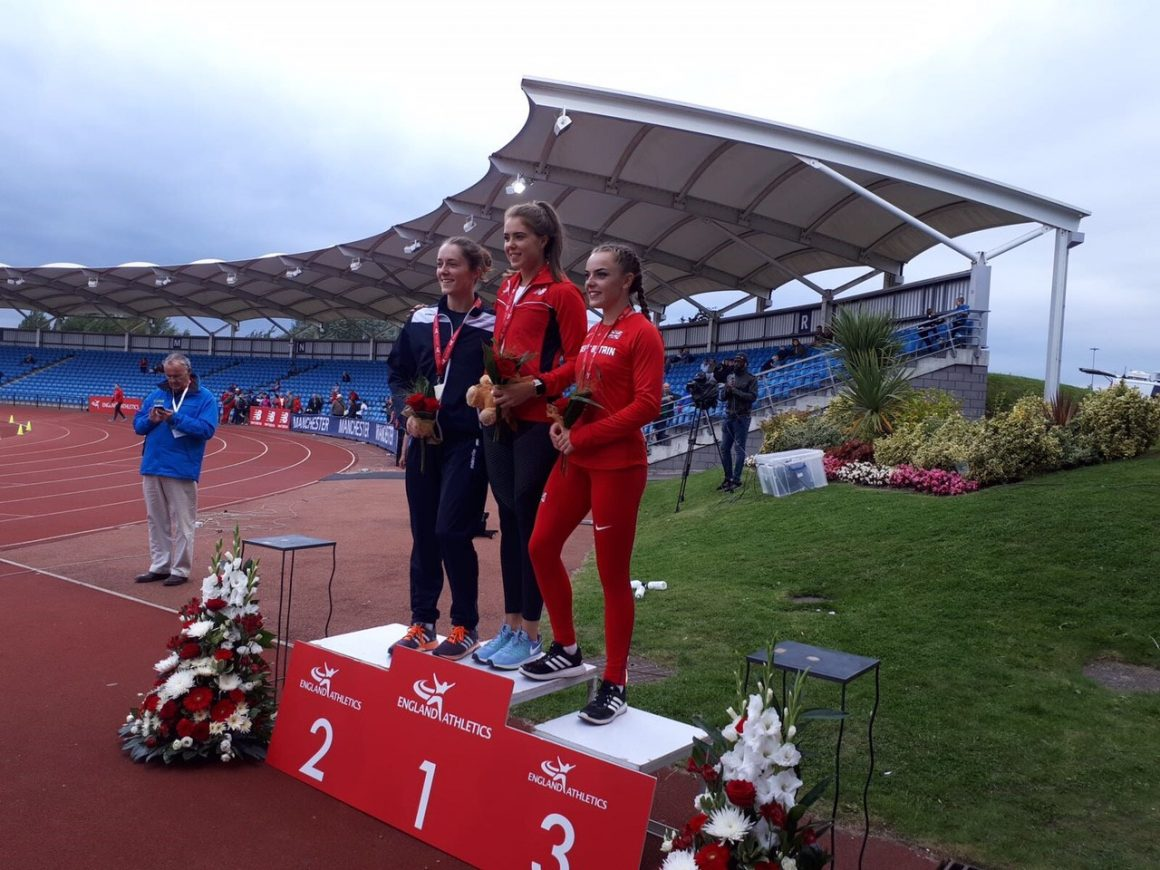 Sprinting and Jumping onto the Podium