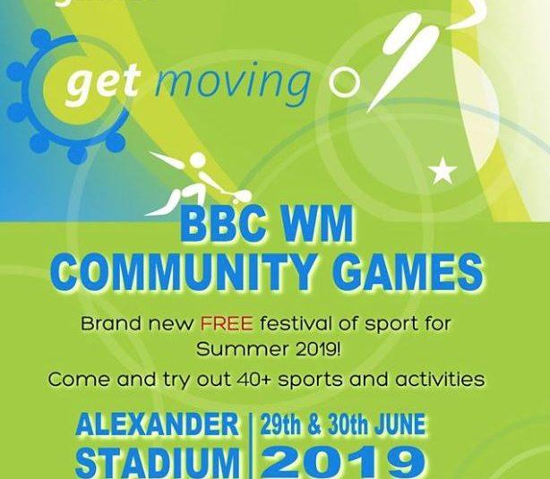 BBC WM Community Games 29 – 30 June