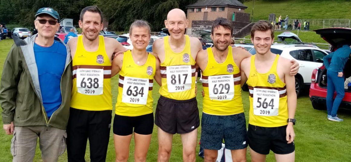 HACC on tour to Lake Vyrnwy Half Marathon